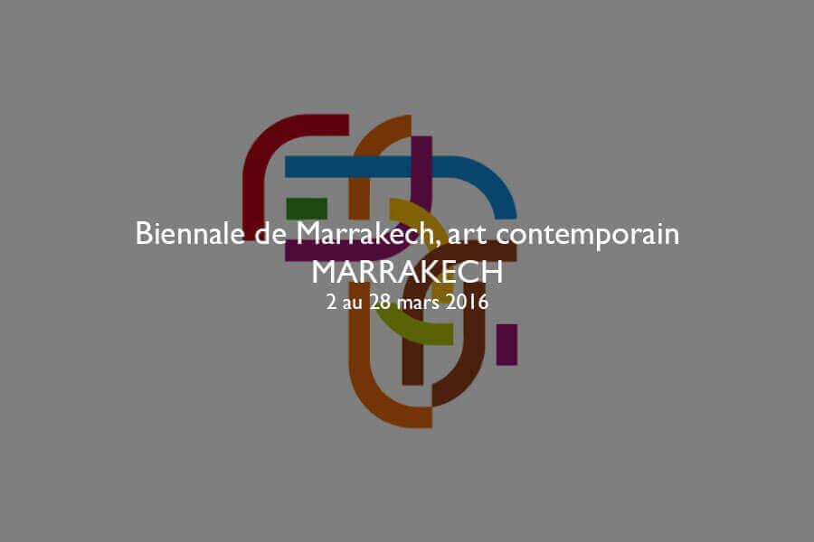 Biennale de Marrakech, art contemporain - 6ème édition
