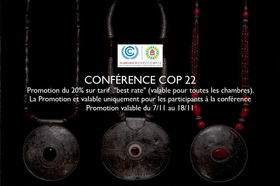 offre conférence COP22