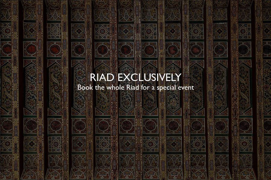 RIAD ECLUSIVELY OFFER